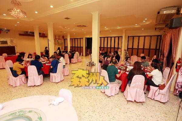 在有条件行动管制令期间,民众受促勿举办私人社交活动包括宴会。(档案照)