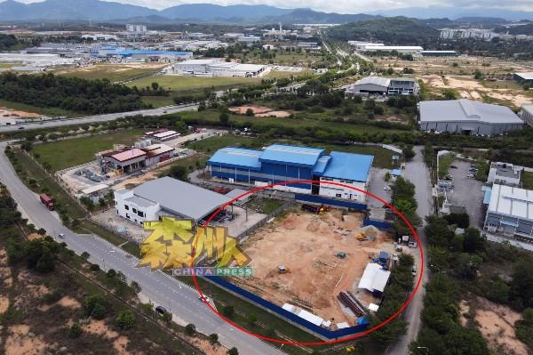 建议兴建焚化炉的地点,位于达城科技谷,占地为1.5英亩。