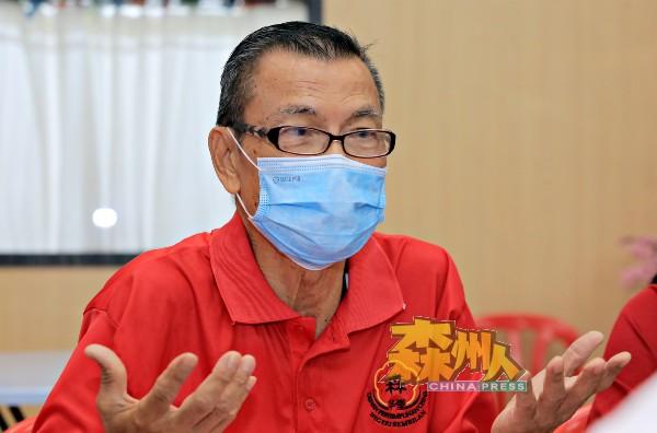 陈永明正式卸下森华堂主席职。
