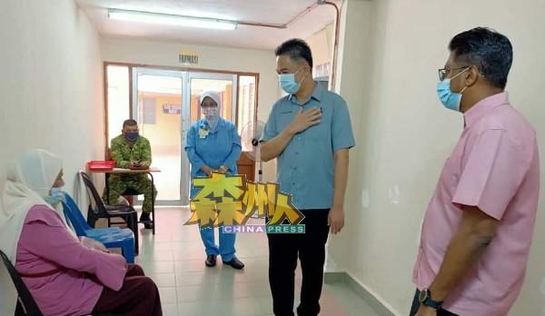 马口卫生诊所在数日前已被列为仁保县其中一个接种疫苗中心,平均每日可为60位民众注射疫苗。