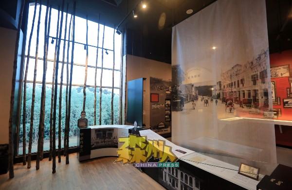 文史馆把红树林的元素注入文史馆,让人感受开荒的氛围。
