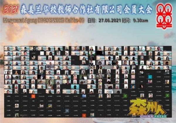 森华校教师合作社成功举行线上社员大会