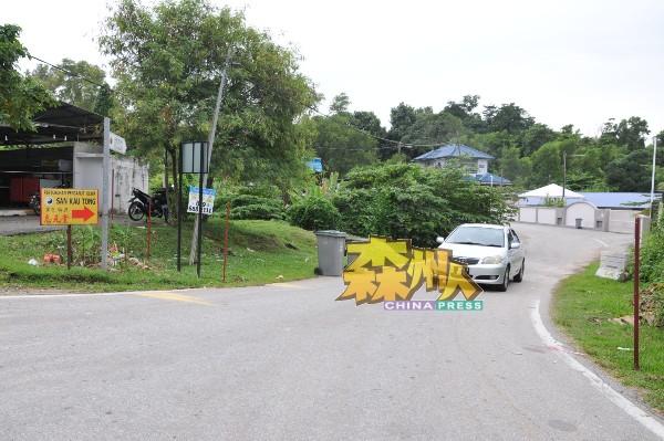 若不久后前方捷径被地主围篱封起,3家工厂及附近居民再也无法从此路段通往金源镇路口。